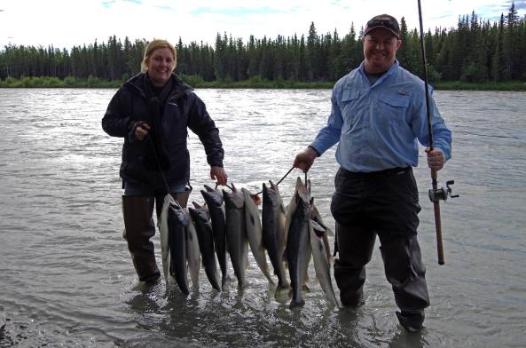Photo Courtesy of Alaska Fishing with Mark Glassmaker, Inc.