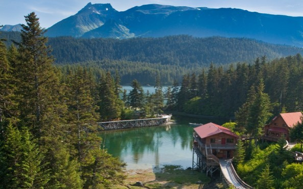 Photo Courtesy of Tutka Bay Lodge