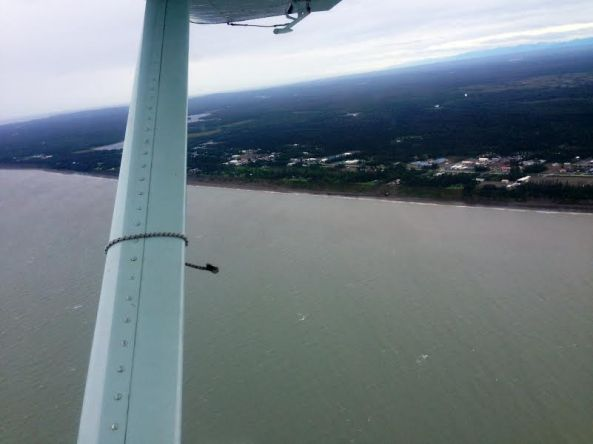 leaving the cook inlet