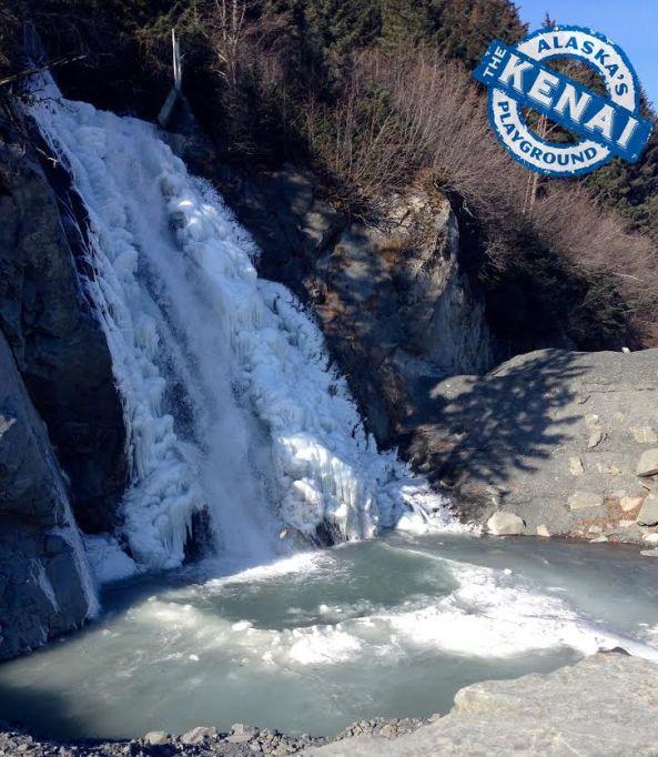 waterfall seward alaska