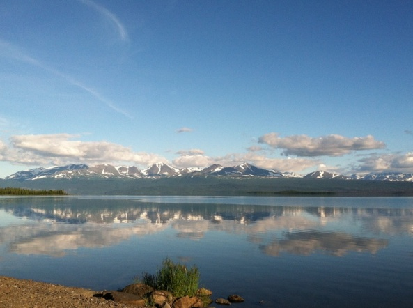 Skilak Lake photo from Rachael Huttula