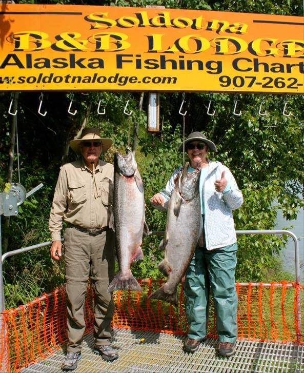 Photo from Alaska Fishing Charters and Soldotna B&B Lodge