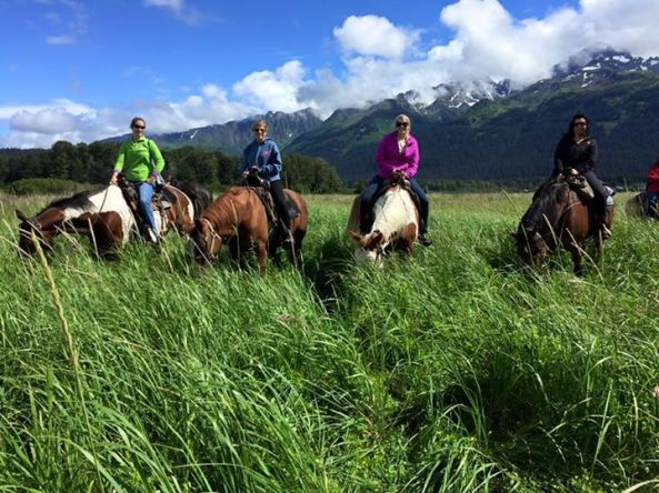 Bardy's Trail Rides in Seward, Alaska.