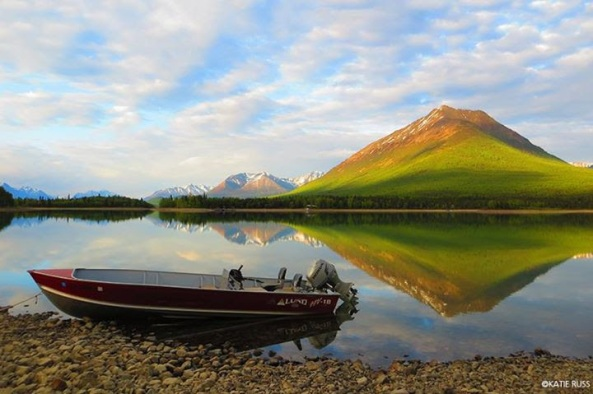 "Great photo Katie Russ, ""People's Choice"" winner of Lake Clark National Park & Preserve's 2015 photo contest."