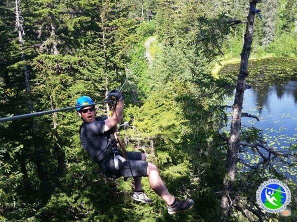 Photo from Stoney Creek Canopy Adventures in Seward, AK.