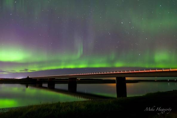 Kenai River at the Warren Ames Bridge. Photo from Mike Haggerty.