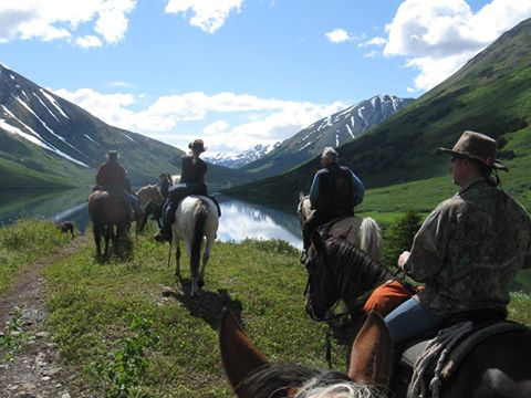 Photo courtesy of Alaska Horsemen Guest Ranch