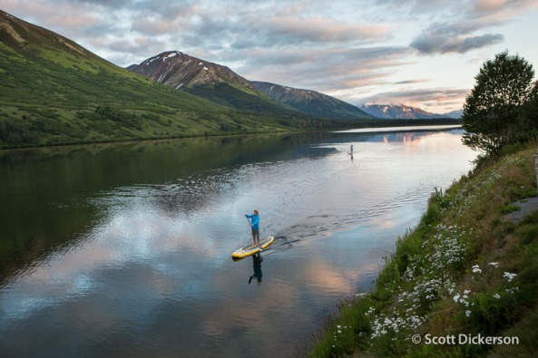 Photo from Scott Dickerson Photography in Seward, AK.