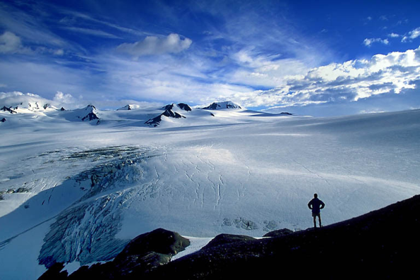Photo of the Harding Ice Field from www.photosbymartin.com.