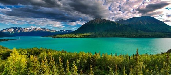 Kenai Lake. Photo from Ed Boudreau.