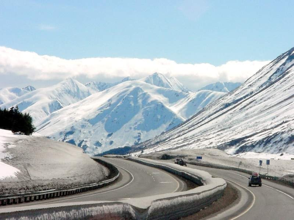Photo of Turnagain Pass,, Alaska from www.panoramio.com.