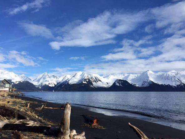 Lowell Point Beach in Seward, Alaska. Photo from Kristie Stockton.