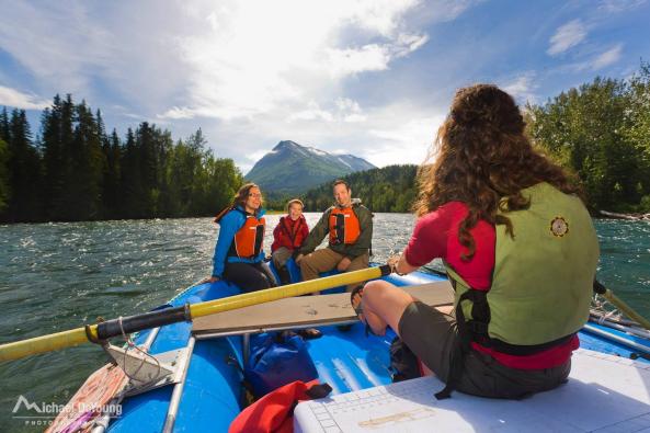 Photo from Alaska River's Company