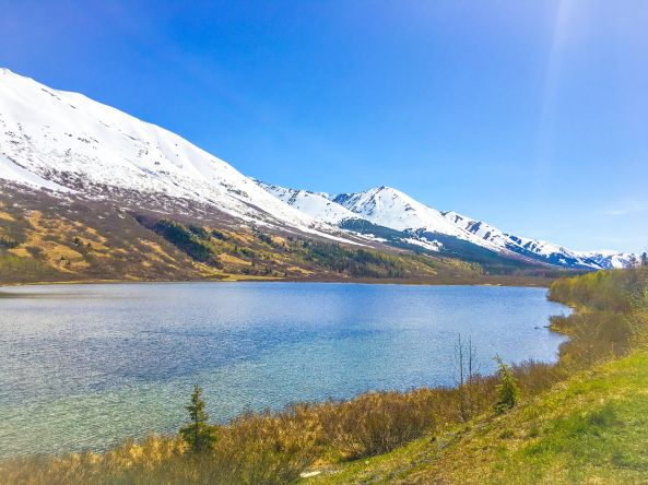 Lower Summit Lake 5.13